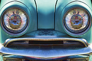 Childlike Metal Prints - Cute Little Car Faces Number 1 Metal Print by Carol Leigh