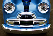 Childlike Metal Prints - Cute Little Car Faces Number 4 Metal Print by Carol Leigh