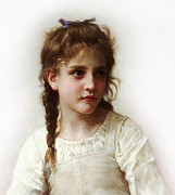 All - Cute Little Girl by Bouguereau