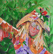 Scarecrow Originals - Cute Scarecrow by Carol Landry