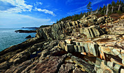 Maine Coast Posters - Cutler Coast at Fairy Head Poster by ABeautifulSky  Photography