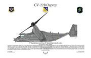 Cv-22b Osprey 20th Sos Print by Arthur Eggers