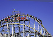 Luna Park Art - Cyclone 2013 - Coney Island - Bklyn - NY by Madeline Ellis