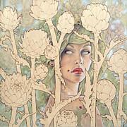 Cynara Print by Fay Helfer