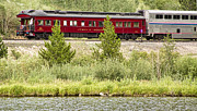 Caboose Photos - Cyrus K  Holliday Private Rail Car by James Bo Insogna