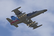 Hradec Prints - Czech Air Force Aero L-159t Advanced Print by Timm Ziegenthaler