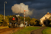 Christian Spiller - Czech steam locomotive...