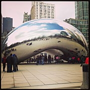 Coyle Glass - Da Bean #cloudgate...