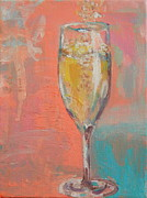 Special Occasion Paintings - Da Bubbly by Sarah Stokes