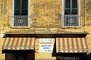 Grocery Store Photo Prints - Da Marco Print by Silvia Ganora