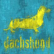 Dachshund Print by Anthony Ross