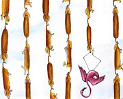 Hot Originals - Dachshund Links by Christy Beckwith