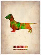 Dachshund Poster 2 Print by Irina  March