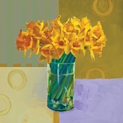 Ornamental Paintings - Daffodil Bronze by Cathy Locke