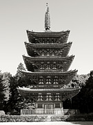 National Treasure Prints - Daigo-ji Pagoda - Japan National Treasure Print by Daniel Hagerman