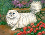 Kitten Paintings - Dainty Cat by Linda Mears