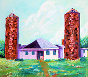 Dairy Barn Print by Todd Bandy