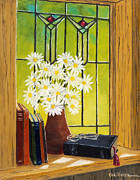 Val Miller - Daisies and Stained...