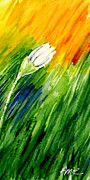 Bright Colors Metal Prints - Daisy 3 of 3 Metal Print by Annie Troe