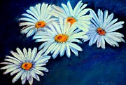 Daisy Pastels Metal Prints - Daisy Fever  Pastel Metal Print by Antonia Citrino