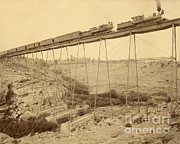 Dale Creek Bridge Union Pacific Print by Getty Research Institute