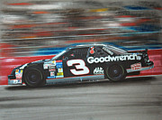 Tire Mixed Media Originals - Dale Earnhardt Goodwrench Chevrolet by Paul Kuras