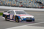 Daytona 500 Photos - Dale Earnhardt Jr #88 by Bao D
