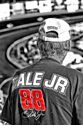 Racetrack Photos - Dale Jr by Karol  Livote