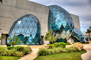 St Petersburg Florida Metal Prints - Dali Museum St Petersburg Florida  Metal Print by Mal Bray