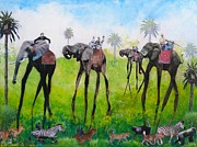 Salvador Mixed Media - Dali Safari by John Pimlott