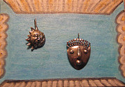 Sterling Silver Jewelry - Dali Stop Poking My Eye Eye Separatist Movement Jewelry Art Pair by Lois Picasso