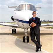 Texas Art - Dallas Cowboys Superbowl Quarterback Troy Aikman by David Perry Lawrence