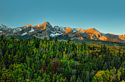 Juans Photos - Dallas Divide and Mt Sneffels at Sunrise by Ken Smith