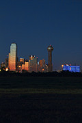 Metroplex Prints - Dallas Sunset Print by Jonathan Davison