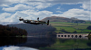 Lancaster Bomber Digital Art - Dam Buster by James Biggadike