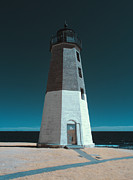 New England Lighthouse Prints - Damage Control Print by Luke Moore