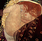Klimt Digital Art Prints - Danae Print by Gustive Klimt
