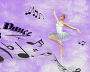 Ballet Art Prints - Dance Print by Cheryl Young