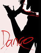Ballroom Mixed Media Posters - Dance Poster by Doug Walker
