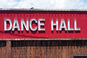 Barn Dance Posters - Dance Hall Sign Poster by Gunter Nezhoda