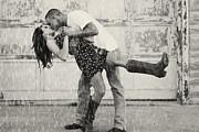 Carolyn Pettijohn - Dance in the Rain in black and White