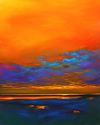 Clouds Paintings - Dance of Angels by Mike Savlen