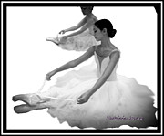 Ballet Dancers Photo Originals - Dance of the Slippers by Patricia Bunk