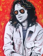 Jim Morrison Posters - Dance On Fire Poster by Jeremy Moore