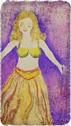 Portraits Art - Dance Princess  by Melissa Nankervis