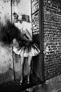 Jon Van Gilder Acrylic Prints - Dancer In The Alley Acrylic Print by Jon Van Gilder