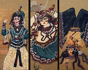 Cyrus Paintings - Dancers by Shaghayegh Cyrous