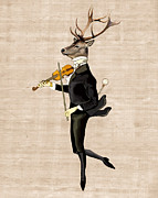Loopylolly   - Dancing Deer with Violin