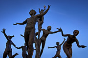 Dancing Figures Print by Brian Jannsen