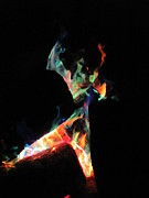 Kerry Lapcevich Art - Dancing Flames by Kerry Lapcevich